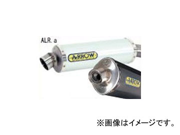 2輪 Nプロジェクト アロー エキゾーストシステム Approved 7163 ALR.a アルミサイレンサー ホンダ ホーネット600 2003年~2005年