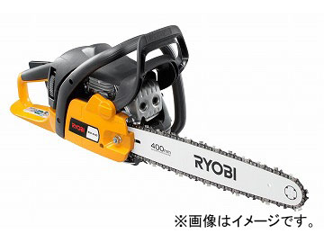 リョービ/RYOBI エンジンチェンソー ESK-4140 長さ765×幅210×高さ280mm 切断長さ:400mm 全装備時:5.4kg JAN:4960673402029