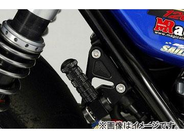 2輪 ケイファクトリー/K-FACTORY タンデムステップキット スーパーブラック カワサキ/KAWASAKI ZRX1200 ~2009年