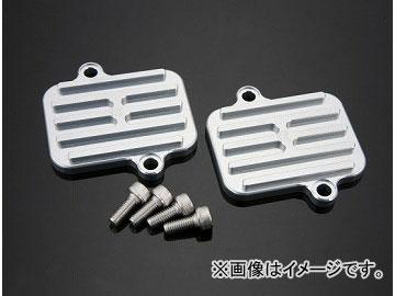 2輪 ケイファクトリー/K-FACTORY 2次エアーキャンセルプレート メタリックシルバー カワサキ/KAWASAKI ZRX1200 ~2009年
