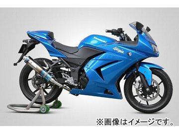 2輪 ケイファクトリー/K-FACTORY FRC チタン スリップオン 1本出し カワサキ/KAWASAKI ニンジャ250R