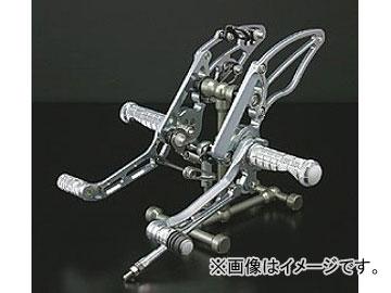 2輪 ケイファクトリー/K-FACTORY ライディングステップ メタリックシルバー カワサキ/KAWASAKI ZRX1200 ダエグ