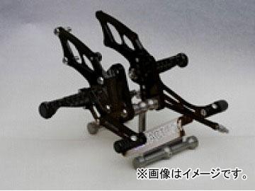 2輪 ケイファクトリー/K-FACTORY ライディングステップ スーパーブラック カワサキ/KAWASAKI ニンジャ250R