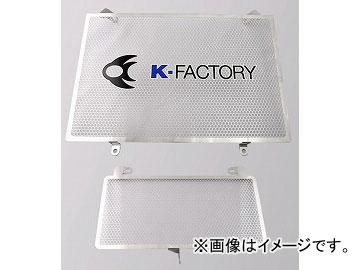 2輪 ケイファクトリー/K-FACTORY ラジエターコアガード Aタイプ(オイルクーラーガード付) スズキ/SUZUKI GSX1300R 隼 2009年~