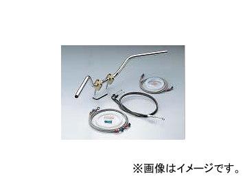 2輪 ハリケーン Z II-TYPE ハンドルkit ブレーキホース オリジナル フルステンレス製 HBK502AS JAN:4936887906431 シルバー ホンダ CB1300SF X-4/LD