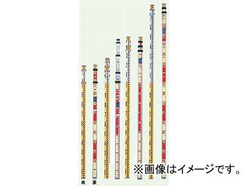 ヤマヨ/YAMAYO アルミスタッフ 測量用 AS7-4 長さ:7m4段 JAN:4957111073170