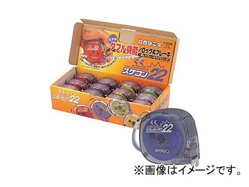 ヤマヨ/YAMAYO スケコン22 ロック付 SCR22-55M 長さ:5.5m(5.5m尺相当目盛付) JAN:4957111496504 入数:12個(4色×3個入)