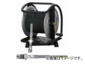 豪華で新しい (Sスムージーホース付) フジマック/FUJIMAC ACスウィングダスターソケット GHDALB-530C-S JAN:4984546605362:オートパーツエージェンシー2号店 30m 高圧用C型ドラム ステンレス ブラック-DIY・工具