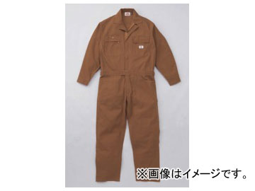 山田辰/YAMADA TATSU ディッキーズ/Dickies 年間物ツヅキ服 702-BW-3L ブラウン サイズ:3L