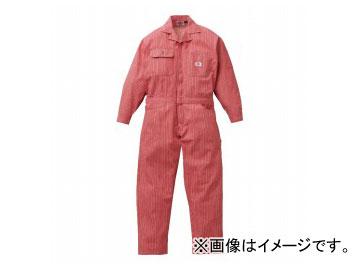 山田辰/YAMADA TATSU ディッキーズ/Dickies 年間物ヒッコリーツヅキ服 801 レッド サイズ:S~LL