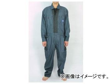 山田辰/YAMADA TATSU ディッキーズ/Dickies 春夏長袖ツヅキ服(男性用) 911-NB-3L ネイビーブルー サイズ:3L