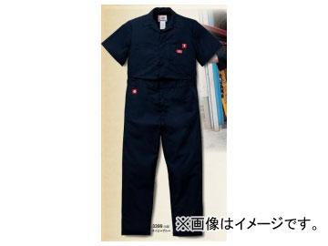 山田辰/YAMADA TATSU ディッキーズ/Dickies 半袖インポートツヅキ服 3399-NB-XL ネイビーブルー サイズ:XL