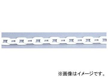 ユニット/UNIT プラスチックチェーン 白 40m 品番:871-13