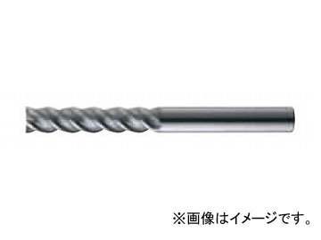 日立ツール/HITACHI エポックパーツフィニッシュミル ロング刃長Aタイプ 8×90mm EPFL4080-CS