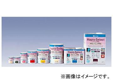 カンペハピオ/KanpeHapio アクリルシリコン樹脂塗料 水性シリコン多用途 Hapio Select/ハピオセレクト つやあり 白・暖色系 0.4L 入数:12缶