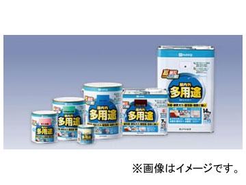 カンペハピオ/KanpeHapio 屋内外多用途 水性ウレタンガード 白/くろ他 1.6L 入数:6缶