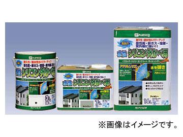 カンペハピオ/KanpeHapio シリコン樹脂系塗料 水性シリコン外かべ用 7L