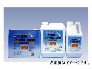 カンペハピオ/KanpeHapio 木部用白アリ予防駆除・木材防腐剤 水性アリシス オレンジ 8L