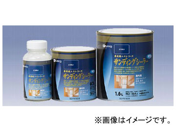 カンペハピオ/KanpeHapio 最高級ニスシリーズ サンディングシーラー 水性 とうめい 300ml JAN:4972910349349 入数:12個