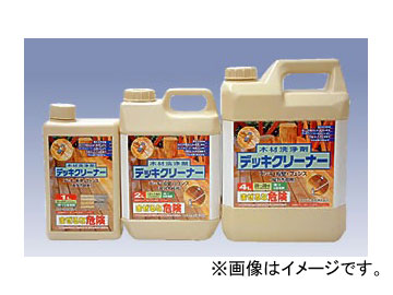 カンペハピオ/KanpeHapio 木材洗浄剤 デッキクリーナー 4L 入数:4個