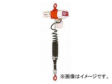 キトー/KITO セレクト チェーンブロック 1.8m 2速シリンダ形 100kg 単相AC100V EDC10SD-100K-1.8M