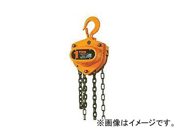 キトー/KITO マイティ M3形 CLチェーン付 1t×2.5m CB010(CL)