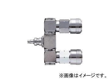 新潟精機 高圧ロータリペアカプラ PC-202HP JAN:4975846868311