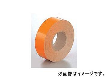 ユニット/UNIT 屋内床貼用テープ(ユニテープ) オレンジ 50mm×50m 品番:863-92