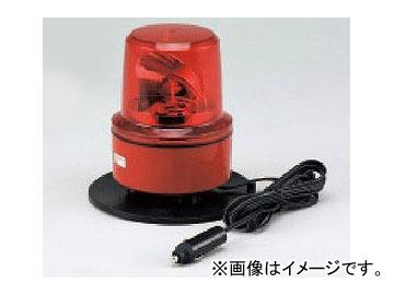ユニット/UNIT 車載用中型パワーLED回転灯 DC24V 赤 マグネット付 品番:883-10