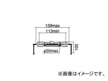 岩崎電気 アイ ハロゲンランプ(両口金型) 1000W 220V JD220V1000W/I