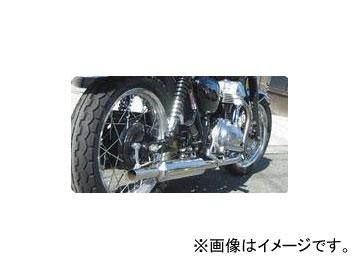 2輪 POSH Faith PCMステンレストライアンフルフルエキゾースト 042150-CA カワサキ W400 ~2008年