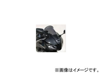 2輪 POSH Faith Ermax Aeromaxスクリーン スタンダードタイプ 形状:5cmロング ホンダ CBR600RR 2007年~2008年