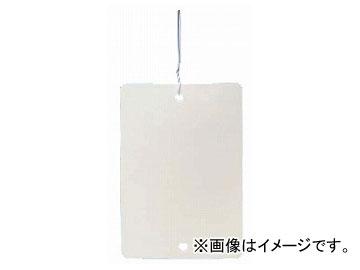 買い取り 未来工業 MIRAI 売店 カラーエフ バインド線付 プラスチック製 線名札 角型 KF-4570BLW 白 45×70 入数:1袋 20枚