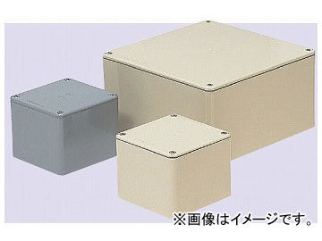 未来工業/MIRAI 防水プールボックス(平蓋) 正方形<ノック無> 350×350×150mm