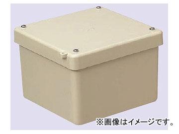 未来工業/MIRAI 強化プールボックス〈FRP製・防水カブセ蓋〉 防水<カブセ蓋> FRP製 FRP-1510B ベージュ 150×150×100mm