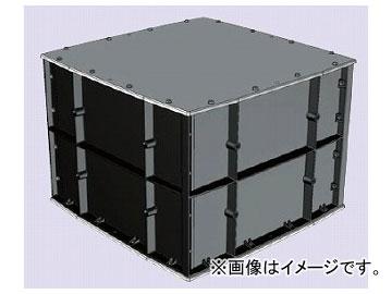 未来工業/MIRAI 強化プールボックス(FRP製・防水カブセ蓋) 防水<カブセ蓋> FRP製 FRP-9070B 1020×1020×720mm