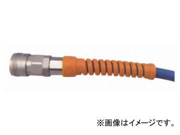 近畿製作所/KINKI ホースガイド付きウレタンホース G1/4袋ナット付ナットカプラ式 20m KUH-65-2CG