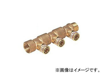 未来工業/MIRAI 回転アダプターヘッダー Wタイプ(50mmピッチ) WGSHK-4P 215.5mm 分岐口数:4