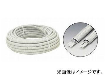 未来工業/MIRAI ぺックスフレキ(ダ円サヤ管ユニットタイプ) VO2-0707M-E ミルキーホワイト 50m