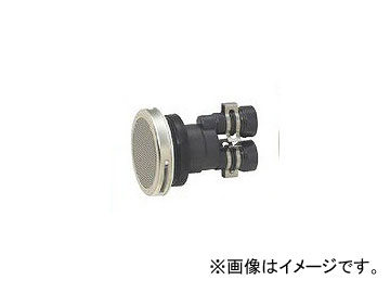 未来工業/MIRAI 一口循環口(樹脂製) ストレートタイプ(樹脂管用) GBSJ-13A 88mm