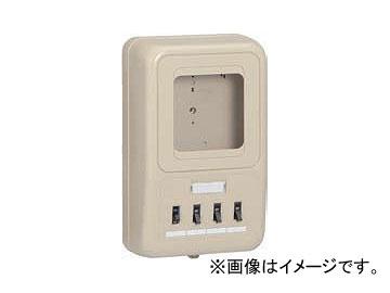 未来工業/MIRAI 電力量計ボックス(分岐ブレーカ・ELB付) 1個用/回路2 WP2-K型 350mm