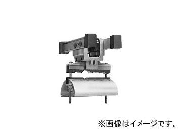 未来工業/MIRAI アルミレール用ケーブルカッシャー 600型 キャプタイヤケーブル並列用 ブラケット70R CKA-605 192×232mm
