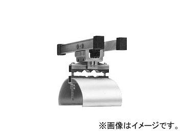 未来工業/MIRAI アルミレール用ケーブルカッシャー 600N型 キャプタイヤケーブル並列用 ブラケット125R CKA-604N 192×324mm