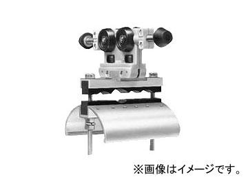 未来工業/MIRAI 内走行用アルミレール用ケーブルカッシャー 650型 キャプタイヤケーブル並列用 ブラケット70R CKA-655 160×215mm