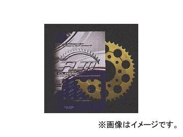 2輪 ザム クラシック リヤスプロケット A4401- 520 カワサキ スーパーシェルパ 1998年~2010年