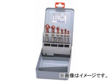ムラキ イリックス カウンターシンクセット TiAINコーティング(難削材・SUS用) 6本組 6277S-AL