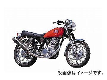 2輪 OVER マフラー ステンカーボン S/O 13-40-01 ヤマハ SR400/500 JAN:4539770014697