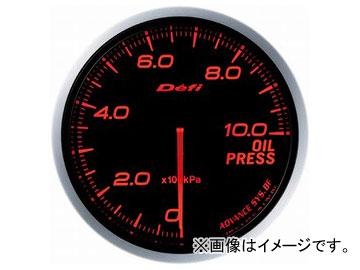デフィ/Defi デフィリンクメーター アドバンスBF 油圧計 DF10202 φ60 照明色:アンバーレッド
