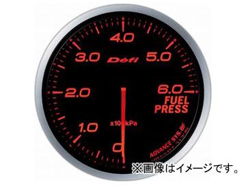 デフィ/Defi デフィリンクメーター アドバンスBF 燃圧計 DF10302 φ60 照明色:アンバーレッド
