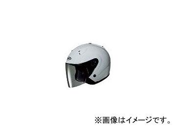 2輪 HJC ヘルメット FS-33ソリッド ホワイト サイズ:S,M,L,XL